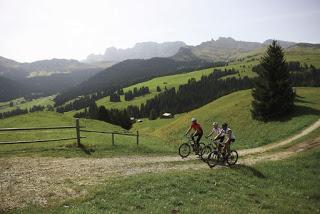 Alpi siusi con la bici