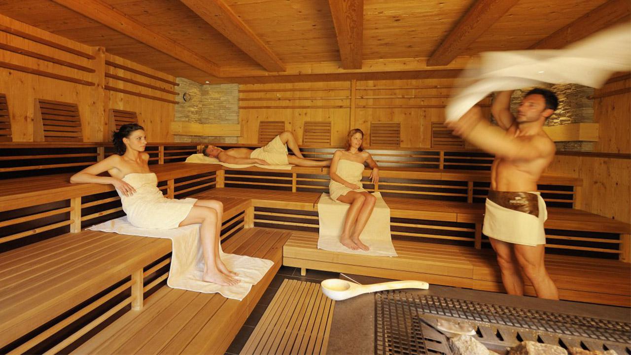 Hotel Benessere Andreus Resorts - Show Sauna in Alto Adige