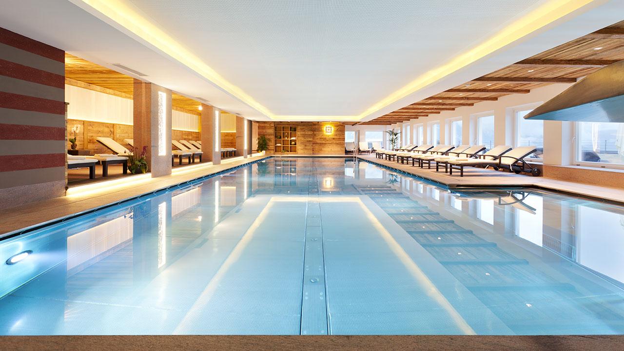 piscina coperta hotel watles val venosta