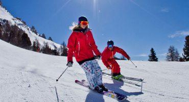 Sciare sulle Dolomiti dell' Alto Adige Trentino