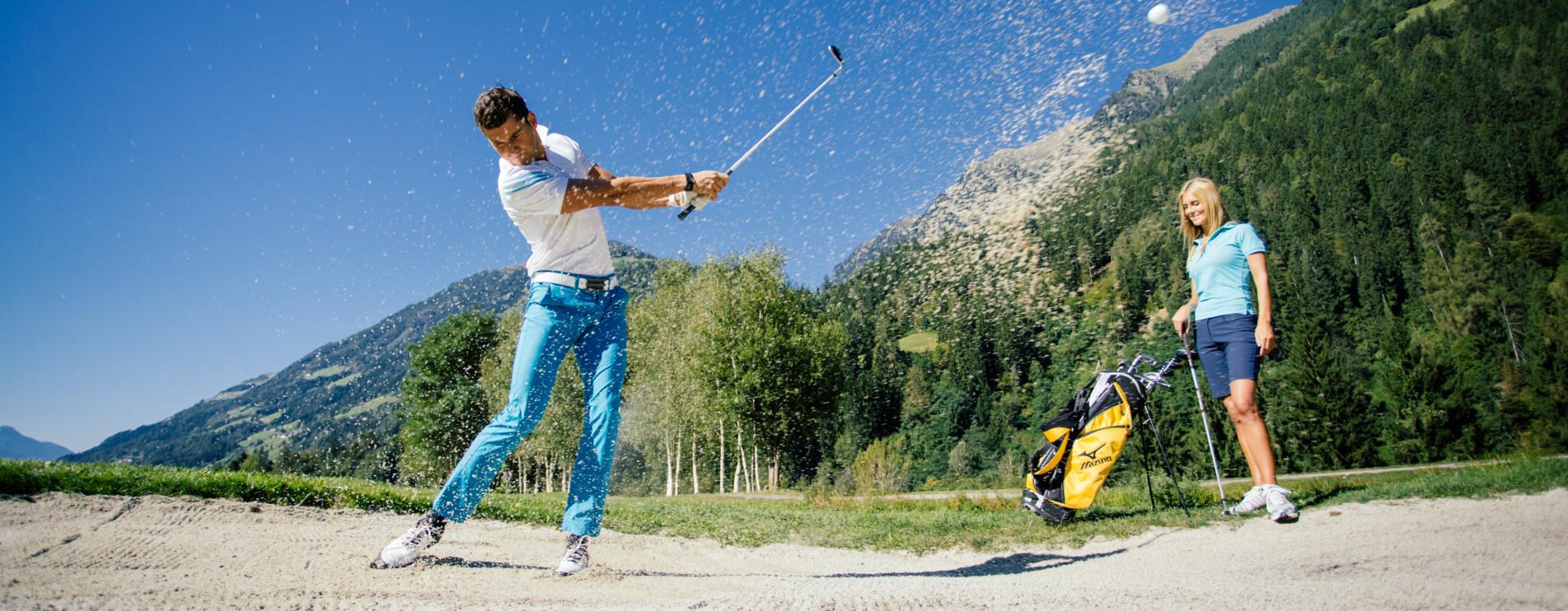 Golf resort andreus merano val passiria alto adige