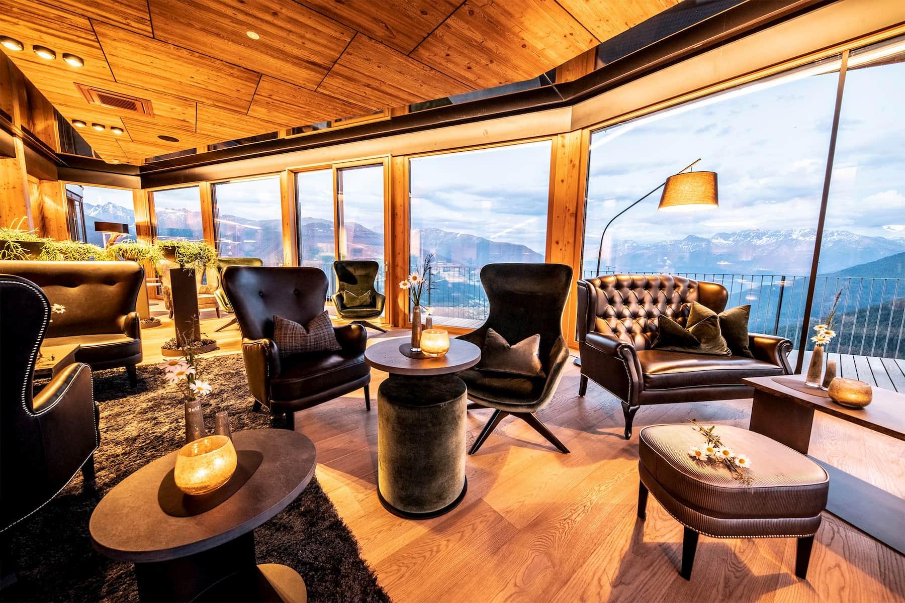 Hotel Watles lounge - vista val venosta