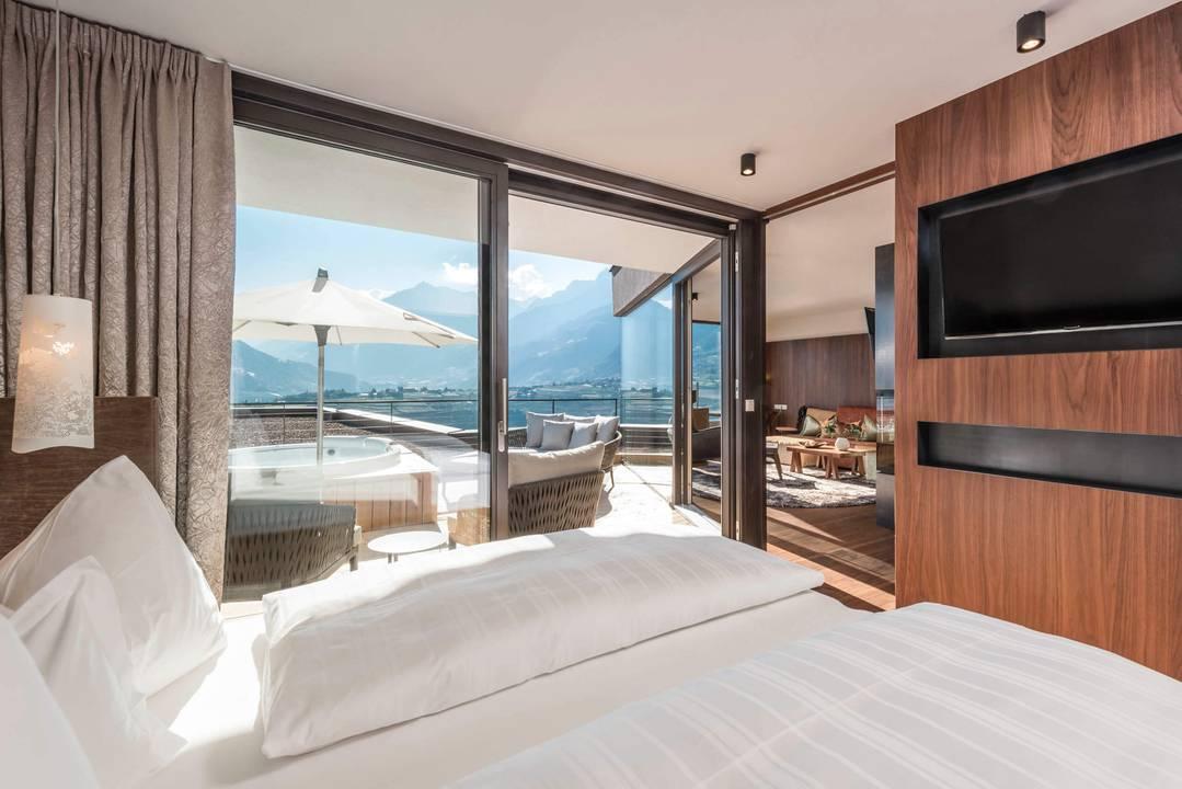 Schenna Resort - Vista Camere Merano