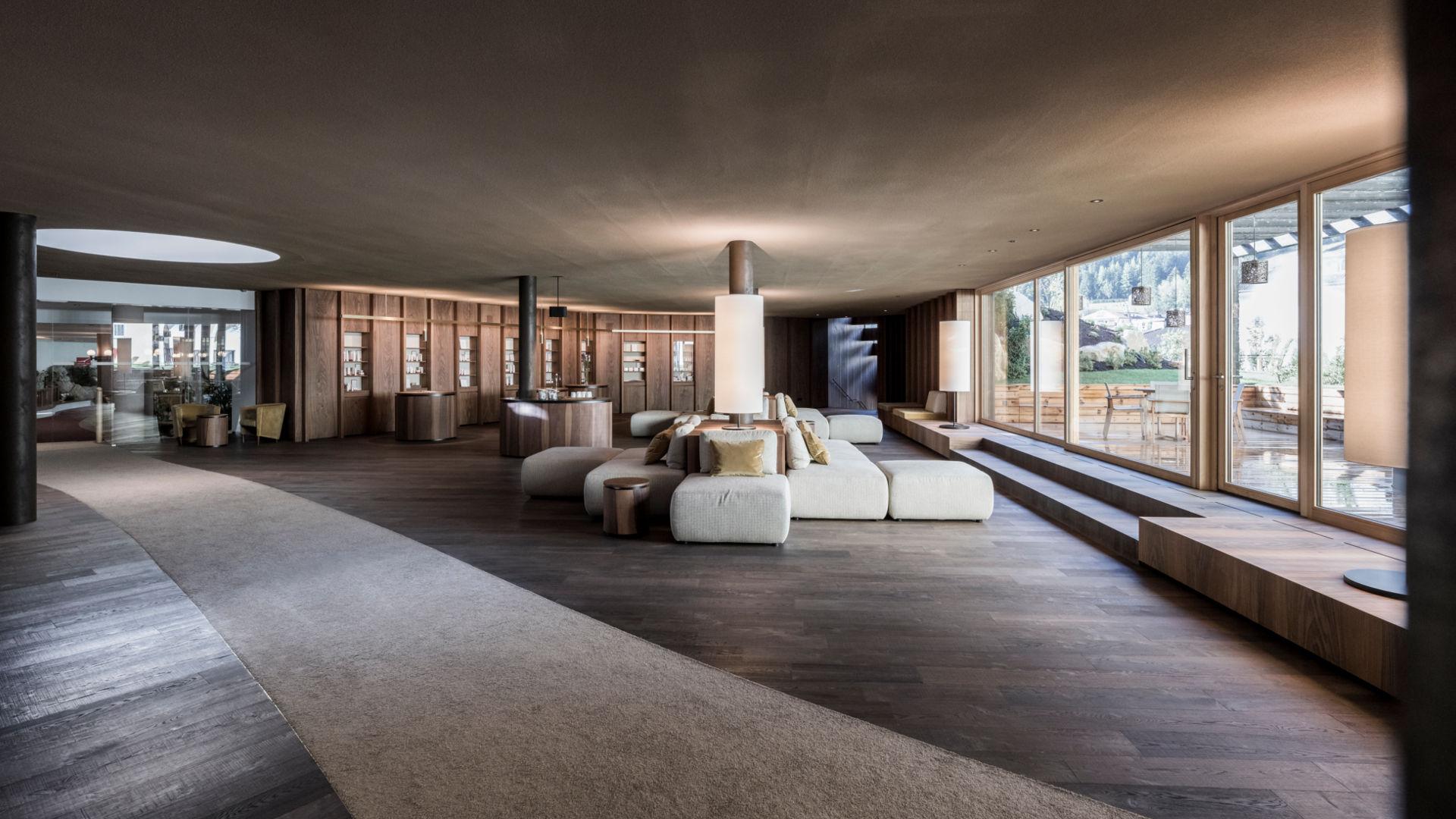 Hotel Adler Dolomiti - Spa & Benessere Hotel - Sala relax